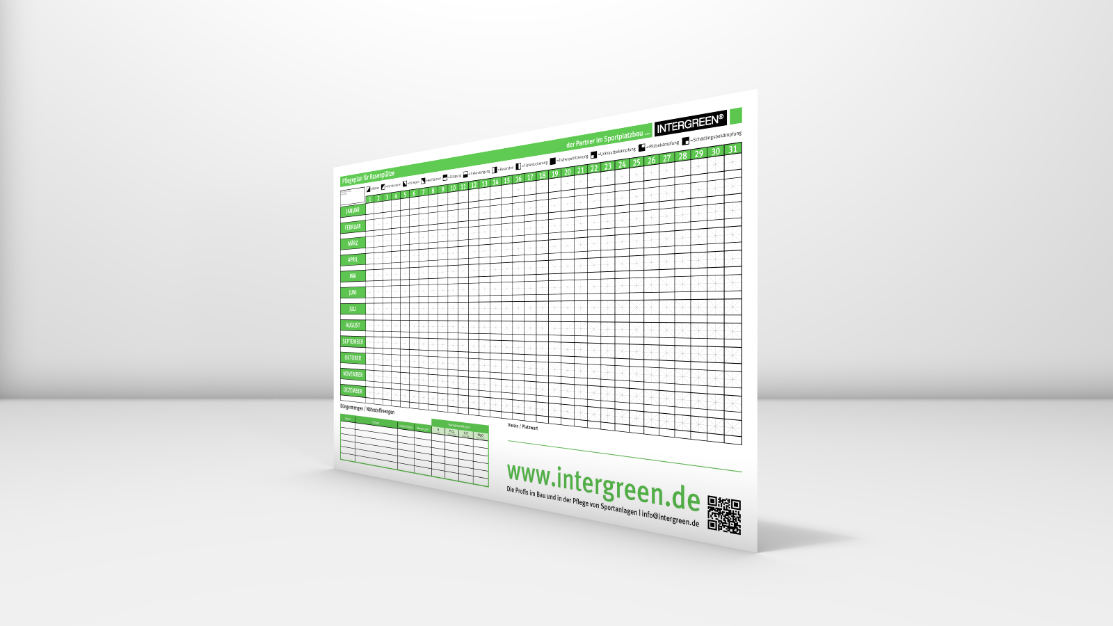 INTERGREEN BASIS WEB 20160129 001 Poster Pflegeplan Sportrasen